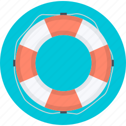 customer, flat design, help, round, service, support icon