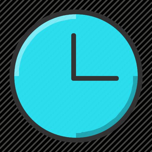 alarm, clock, schedule, wall icon