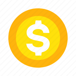 business, coin, financial, money, property, stock, wealth icon