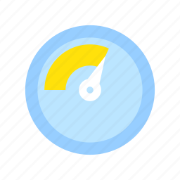analysis, business, caution, danger, gauge, safe, stability icon