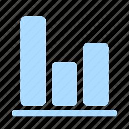 analysis, business, diagram, financial, graph, presentation, stock icon