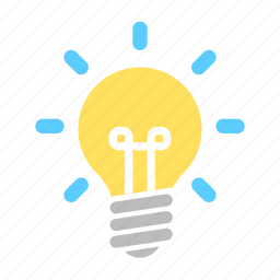 business, creative, financial, idea, innovation, lamp, thinking icon