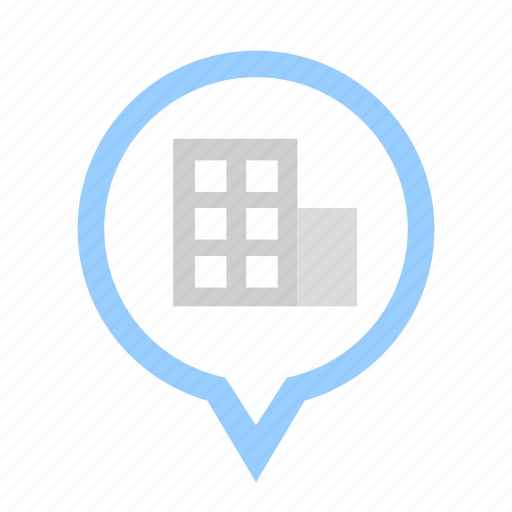 building, business, company, corporation, financial, location, position icon