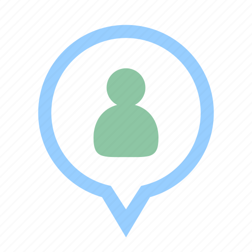 business, financial, location, person, position, resources, talented person icon