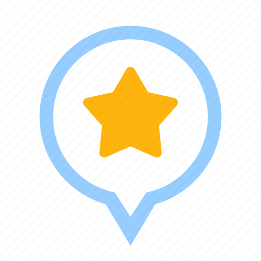 bookmark, business, favorite, financial, location, position, star icon