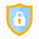 business, defense, financial, guard, protect, security, shield icon