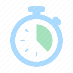business, clock, financial, record, stopwatch, time, timer icon