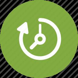 clock, deadline, time management icon