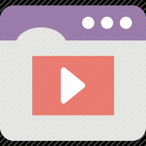 advertising, emarketing, multimedia, online video, video marketing icon