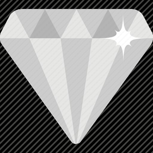 diamond, gem, gemstone, jewel, stone icon