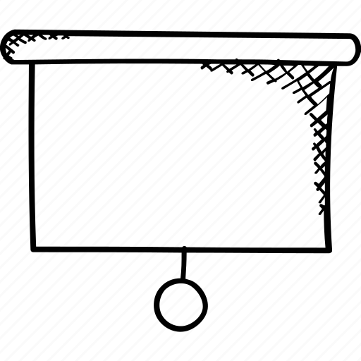 canvas, chalkboard, flip chart, presentation, whiteboard icon