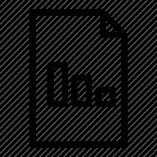 business, document, file, grpah, marketing, money, sale icon