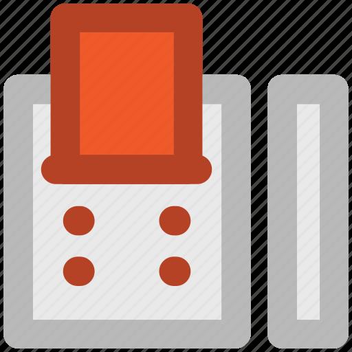 cash register, cashier machine, payment register, pos, register machine, till machine icon