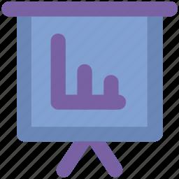 bar chart. chart, diagram, increasing, presentation chart, profit, rising icon