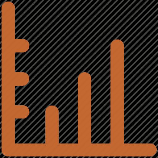 benefit, business chart, chart, increasing, profit chart, progress chart icon
