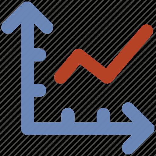 chart, diagram, increasing, presentation chart, profit, rising icon
