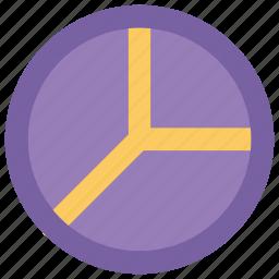 chart, diagram, graph, pie chart, pie graph icon