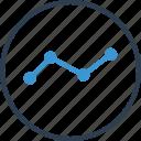 analytics, analyze, data, report, share icon