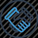 deal, good, hand, handshake, investment, shake icon