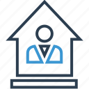 equity, home, house, online, web icon