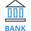 bank, banking, business, online, web icon