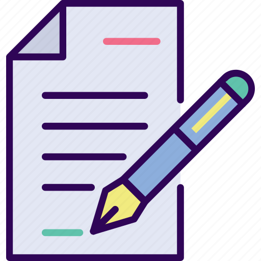agreement, business, document icon
