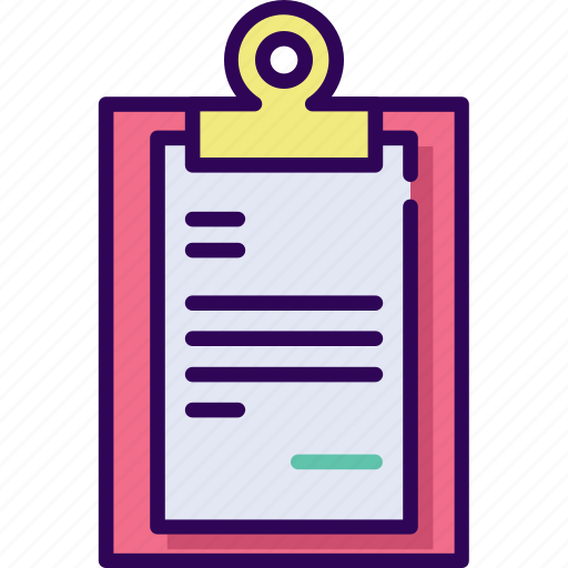 business, document, list, report icon