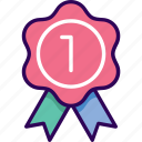 badge, best, business, recommended icon