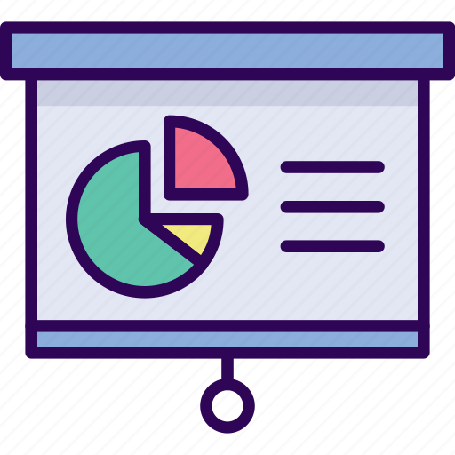 business, guide, meeting, presentation icon