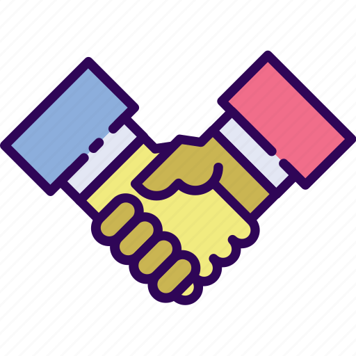 agreement, business, deal, handshake, meeting icon