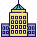 building, business, office, work icon