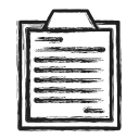 business, list, survey icon