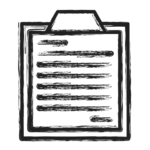 business, list, survey icon
