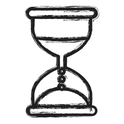 business, glass hour, timer icon