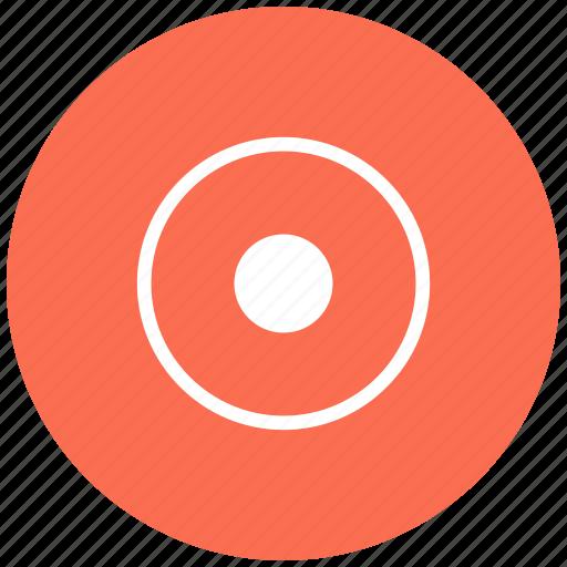 aim, center, controller, game, goal, target icon