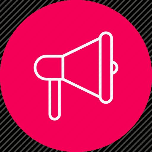 announcement, loud, megaphone icon