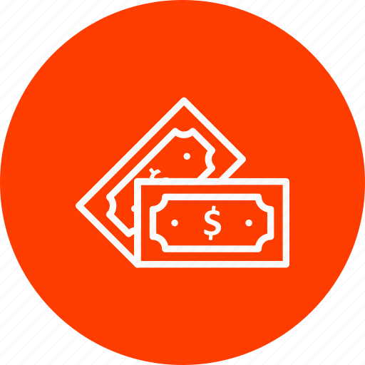 currency, dollor, notes icon