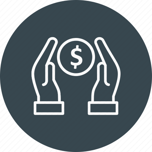 dollar, donation, payment icon