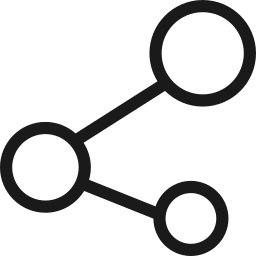 connection, network, share, social icon