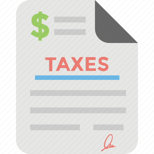 commerce, financial, tax document, tax return, taxes icon