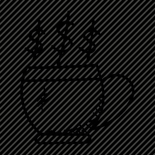 beverage, coffee cup, drink, mug, tea cup icon