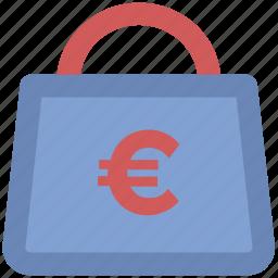 cash, cash bag, dollar, euro sack, money, money bag, money sack, payment icon