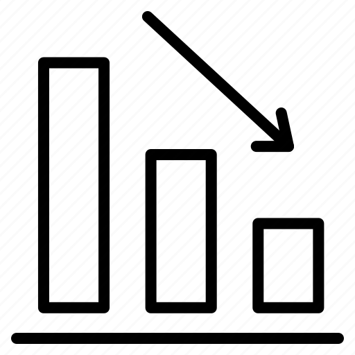 analytics, data, graph, report, sales data, statistics icon