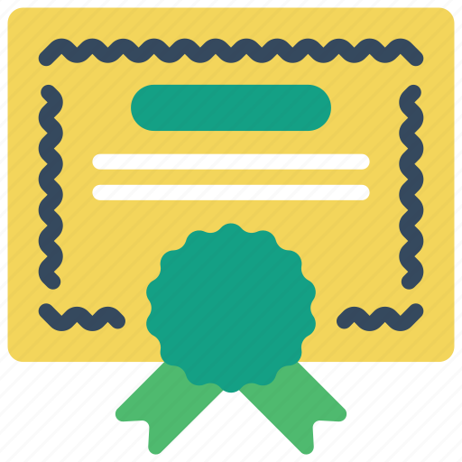 business, certficate, diploma icon