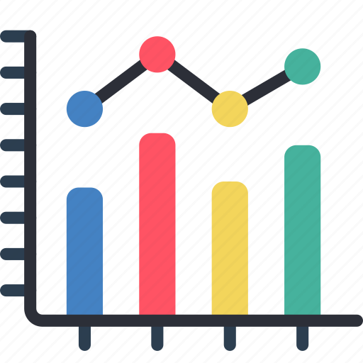 business, chart, graph, tables icon