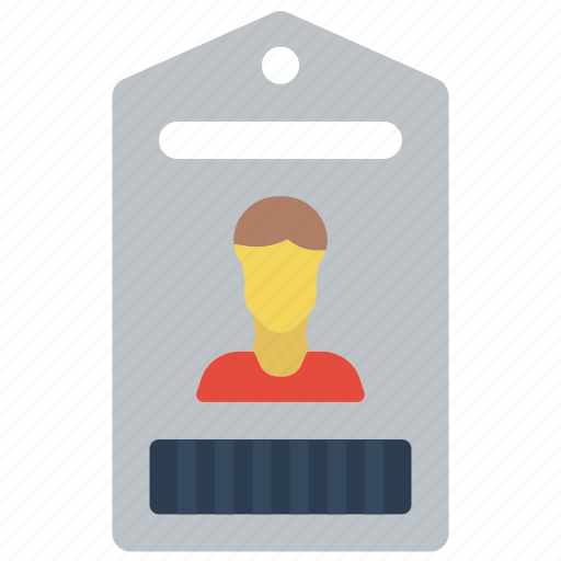 business, card, credentials, id, identification icon
