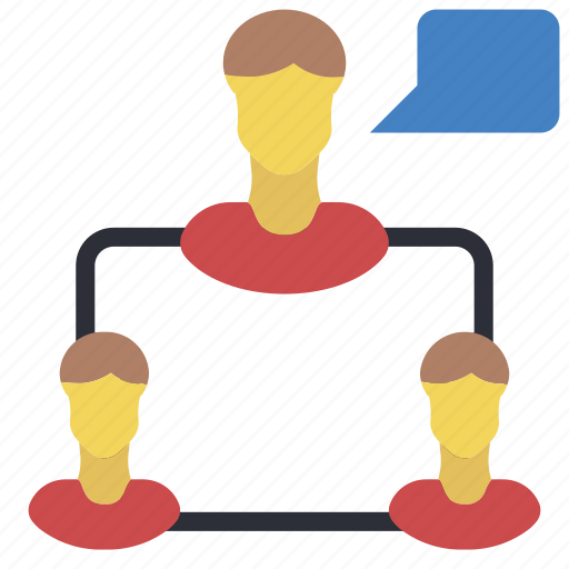 business, chat, group, user, users icon