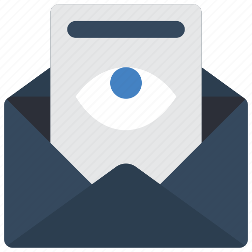 business, email, mail, marked, viewed icon