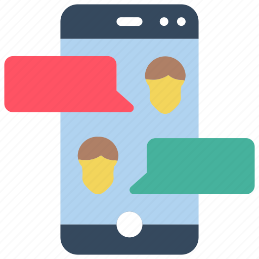 business, chat, group, iphone, messgaing, mobile, users icon