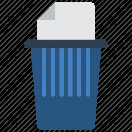business, paper, shred, shredder, stationery, trash icon
